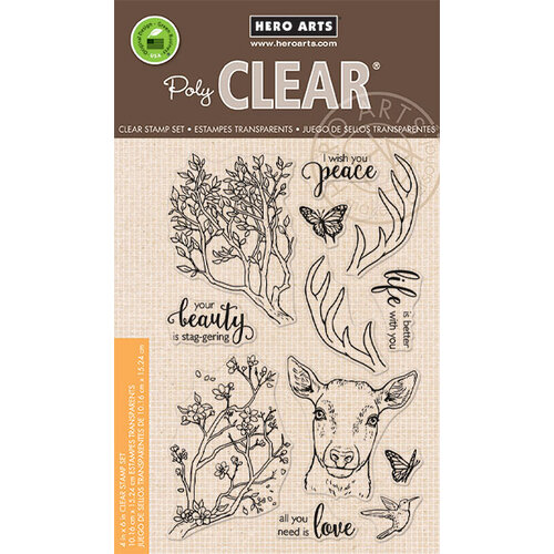 Hero Arts - Clear Photopolymer Stamps - Staggering Branches