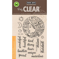 Hero Arts - Clear Photopolymer Stamps - Universal Woman