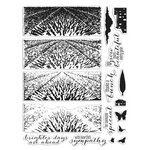 Hero Arts - Clear Photopolymer Stamps - Lavender Field HeroScape