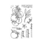 Hero Arts - Clear Photopolymer Stamps - Orange Blossoms