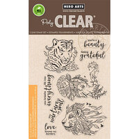 Hero Arts - Clear Photopolymer Stamps - Nature's Beauty