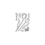 Hero Arts - Clear Photopolymer Stamps - Hero Florals Tulips