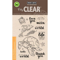 Hero Arts - Clear Photopolymer Stamps - Carry The World