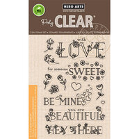Hero Arts - Clear Photopolymer Stamps - Loving Messages