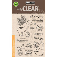 Hero Arts - Clear Photopolymer Stamps - Unbearably Thankful
