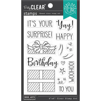 Hero Arts - Clear Photopolymer Stamps - Surprise Gift