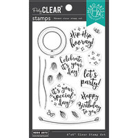 Hero Arts - Clear Photopolymer Stamps - Festive Balloon
