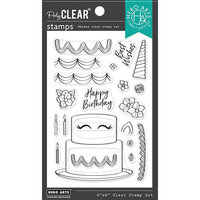Hero Arts - Clear Photopolymer Stamps - Decorate A Cake