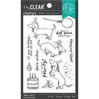 Hero Arts - Clear Photopolymer Stamps - Birthday Paw-ty