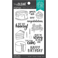 Hero Arts - Clear Photopolymer Stamps - Time For Cake