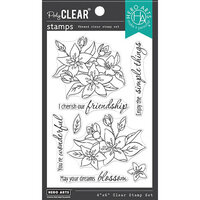 Hero Arts - Clear Photopolymer Stamps - Dreams Will Blossom