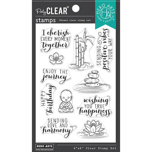 Hero Arts - Clear Photopolymer Stamps - Tranquility