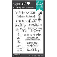 Hero Arts - Clear Photopolymer Stamps - Zen Messages