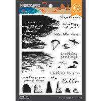 Hero Arts - Clear Photopolymer Stamps - Beach HeroScape