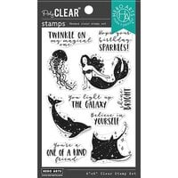 Hero Arts - Clear Photopolymer Stamps - Shine Bright