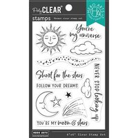 Hero Arts - Clear Photopolymer Stamps - You're My Universe