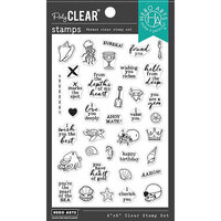 Hero Arts - Clear Photopolymer Stamps - Deep Sea Messages