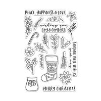 Hero Arts - Clear Photopolymer Stamps - Stocking Bouquet
