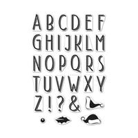 Hero Arts - Clear Photopolymer Stamps - Shadowed Letter Set