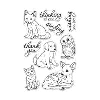 Hero Arts - Clear Photopolymer Stamps - Fawn and Friends