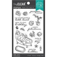 Hero Arts - Clear Photopolymer Stamps - Bubble Bath