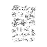 Hero Arts - Clear Photopolymer Stamps - Wheelbarrow Friends