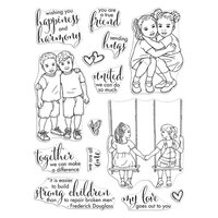 Hero Arts - Clear Photopolymer Stamps - Kids United