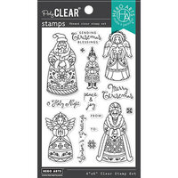 Hero Arts - Clear Photopolymer Stamps - Christmas Folks