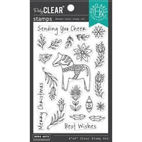 Hero Arts - Clear Photopolymer Stamps - Dala Horse