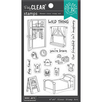 Hero Arts - Clear Photopolymer Stamps - Bedroom Monsters