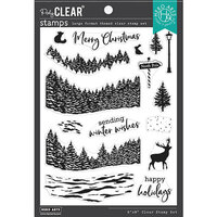 Hero Arts - Clear Photopolymer Stamps - Winter Woods HeroScape
