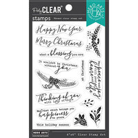 Hero Arts - Clear Photopolymer Stamps - Holiday Blessings