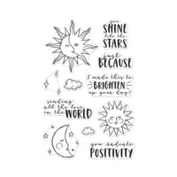 Hero Arts - Clear Photopolymer Stamps - You Shine