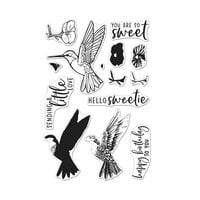 Hero Arts - Clear Photopolymer Stamps - Color Layering Hummingbird