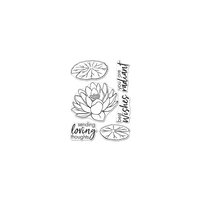 Hero Arts - Clear Photopolymer Stamps - Hero Florals Lotus
