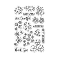 Hero Arts - Clear Photopolymer Stamps - Life Is Beautiful