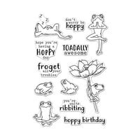 Hero Arts - Clear Photopolymer Stamps - Hoppy Day