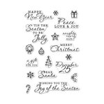 Hero Arts - Christmas - Clear Photopolymer Stamps - Holiday Icons and Messages