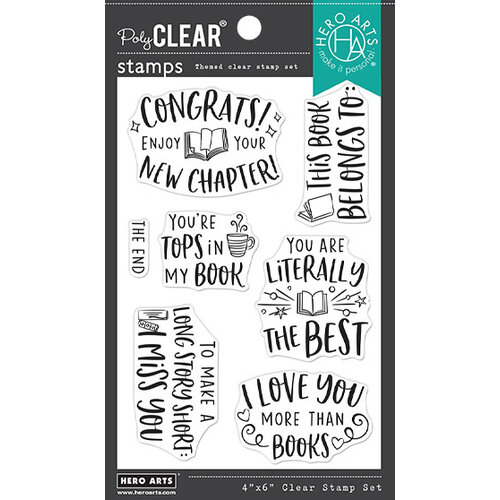 Hero Arts - Clear Photopolymer Stamps - Literally The Best