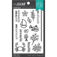 Hero Arts - Clear Photopolymer Stamps - Graphic Reef