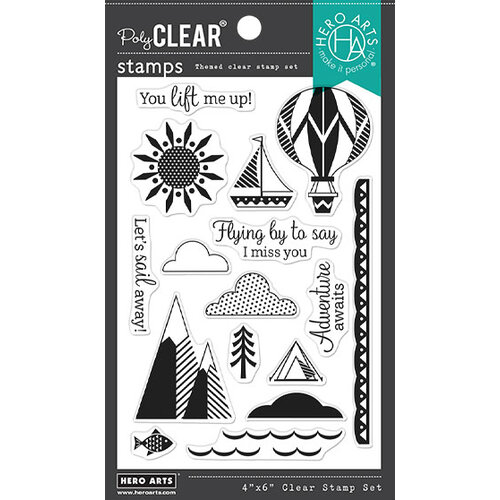 Hero Arts - Clear Photopolymer Stamps - You Lift Me Up