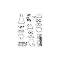 Hero Arts - Christmas - Clear Photopolymer Stamps - Ho Ho Ho Santa Faces