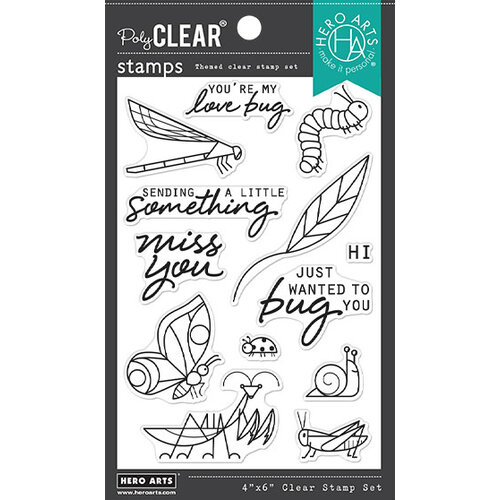 Hero Arts - Clear Photopolymer Stamps - Bug You