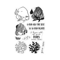Hero Arts - Clear Photopolymer Stamps - Color Layering Royal Angelfish