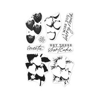 Hero Arts - Clear Photopolymer Stamps - Color Layering Strawberries