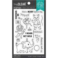 Hero Arts - Clear Photopolymer Stamps - Party Animals