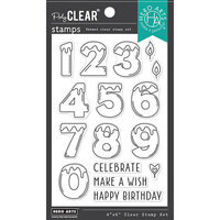 Hero Arts - Clear Photopolymer Stamps - Number Candles