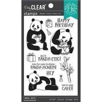 Hero Arts - Clear Photopolymer Stamps - Birthday Panda