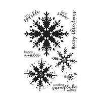 Hero Arts - Christmas - Clear Photopolymer Stamps - Color Layering Snowflake