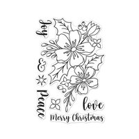 Hero Arts - Clear Photopolymer Stamps - Christmas Rose